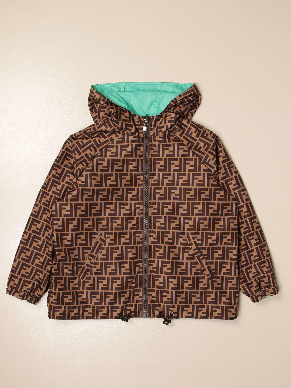 外套 Fendi: 外套 儿童 Fendi 棕色 1
