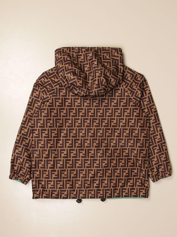 外套 Fendi: 外套 儿童 Fendi 棕色 2