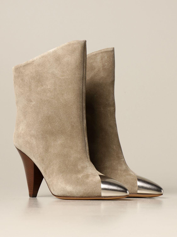 Ботильоны Isabel Marant: Обувь Женское Isabel Marant светло-коричневый 2