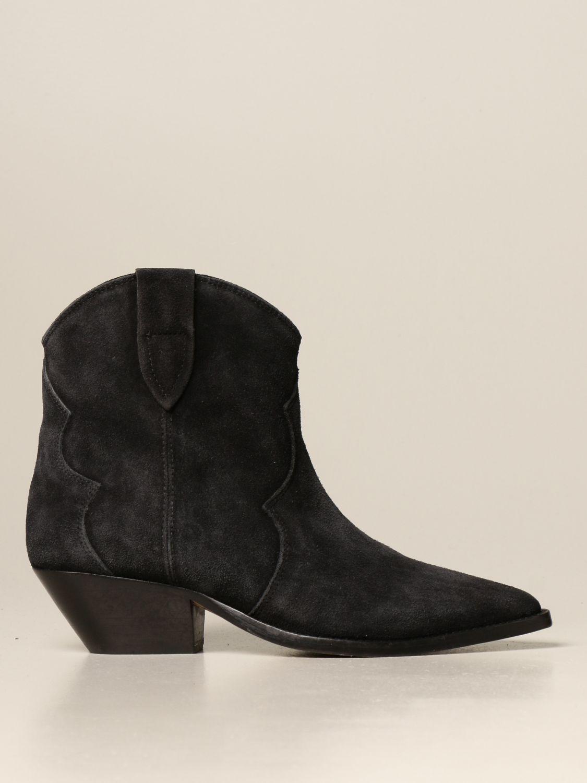 Ботильоны Isabel Marant: Обувь Женское Isabel Marant черный 1