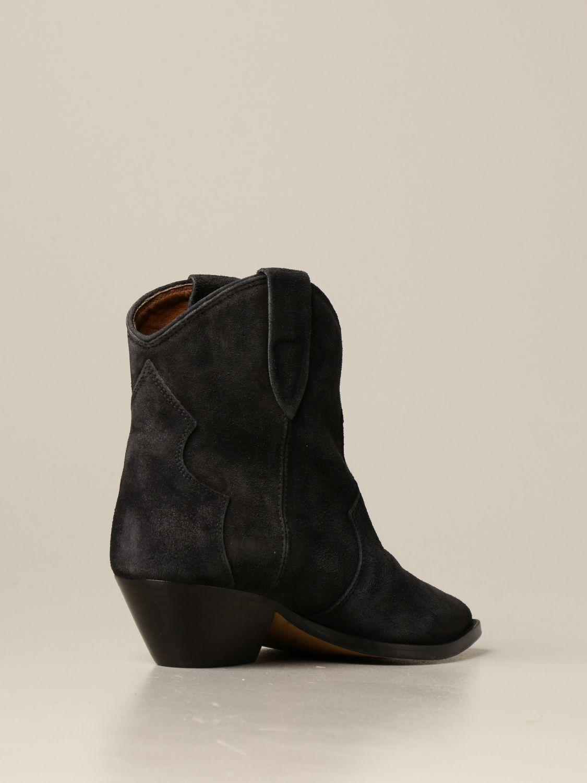 Ботильоны Isabel Marant: Обувь Женское Isabel Marant черный 3