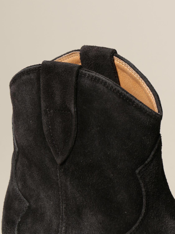 Ботильоны Isabel Marant: Обувь Женское Isabel Marant черный 4
