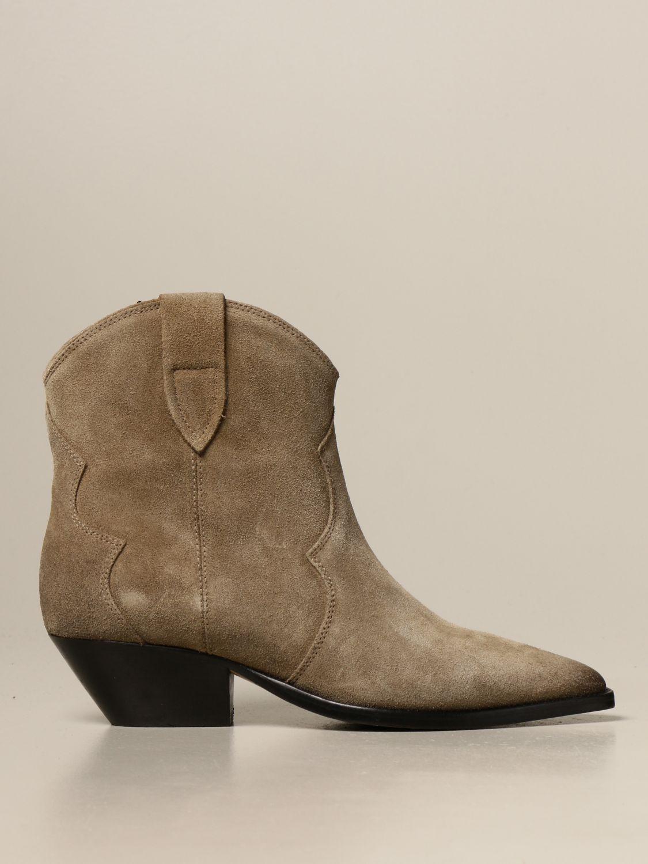 Ботильоны Isabel Marant: Обувь Женское Isabel Marant светло-коричневый 1