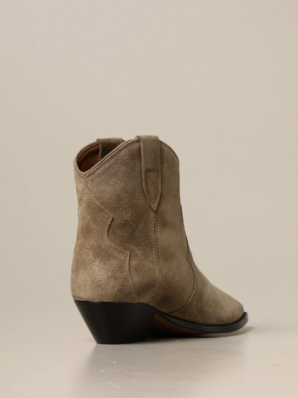 Ботильоны Isabel Marant: Обувь Женское Isabel Marant светло-коричневый 3