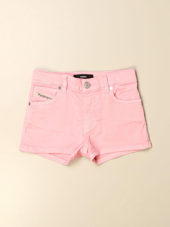 Pantalones cortos Diesel: Pantalón corto niños Diesel rosa 1