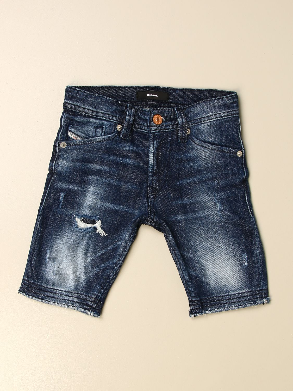 Pantalón corto Diesel: Pantalón corto niños Diesel denim 1