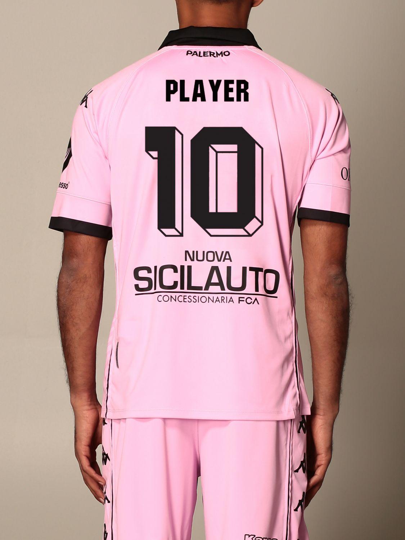 T-shirt Palermo: Maglia Kombat Palermo personalizzata con nome e numero rosa 3