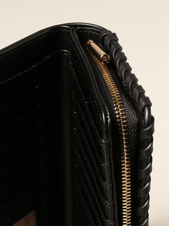 Pensionista Asado Departamento  Liu Jo continental wallet in synthetic leather with logo | Crossbody Bags Liu  Jo Women Black | Crossbody Bags Liu Jo AA1010E0031 Giglio EN