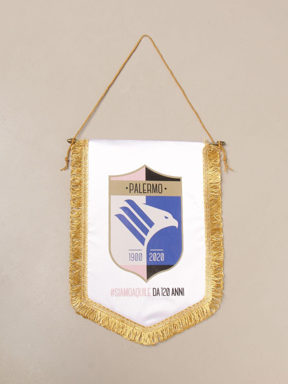 Accessori Palermo: Gagliardetto 120 anniversario Palermo bianco 1
