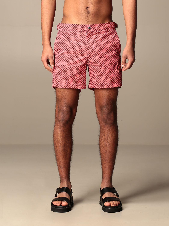Swimsuit Alexander Mcqueen: Swimsuit men Alexander Mcqueen pink 1