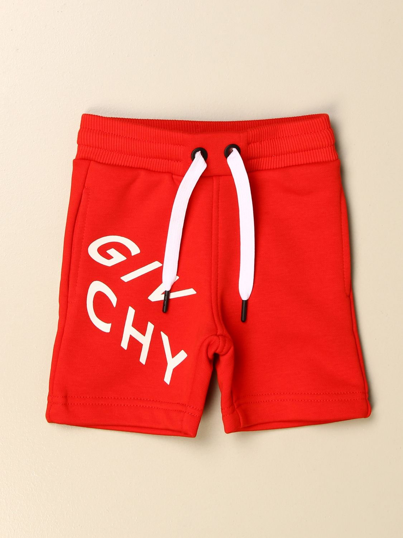 Шорты Givenchy: Штаны Детское Givenchy красный 1