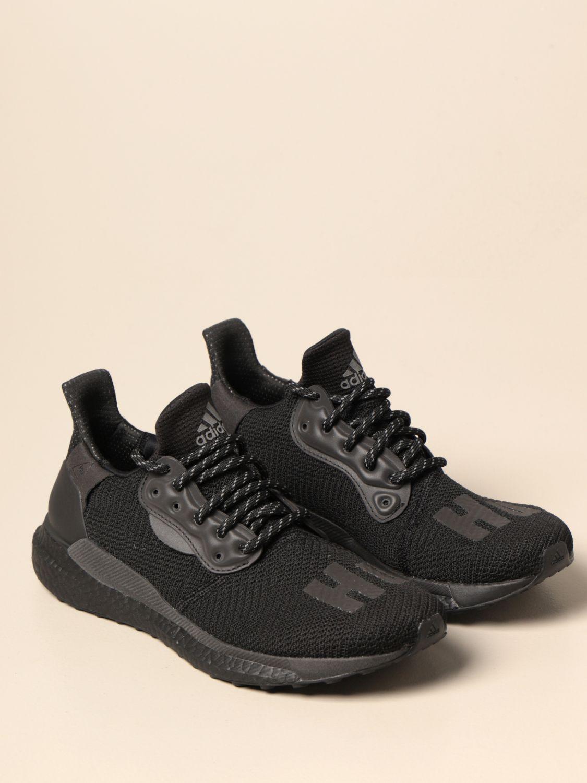 Baskets Adidas Originals By Pharrell Williams: Chaussures homme Adidas Originals By Pharrell Williams noir 2
