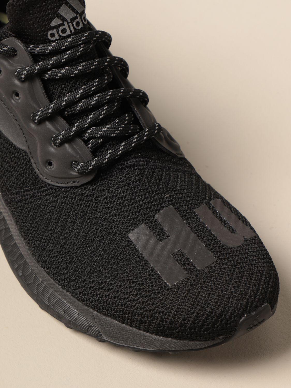 Baskets Adidas Originals By Pharrell Williams: Chaussures homme Adidas Originals By Pharrell Williams noir 4
