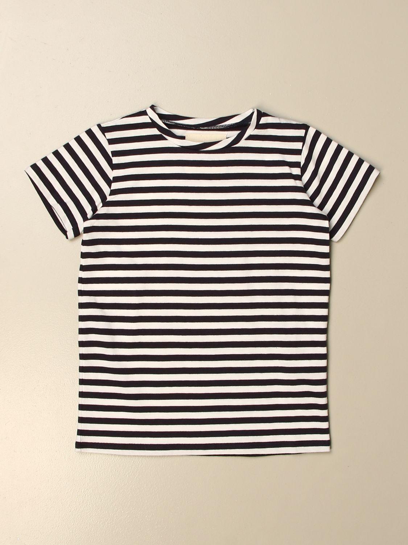 T-shirt Douuod: T-shirt Douuod a righe blue 1