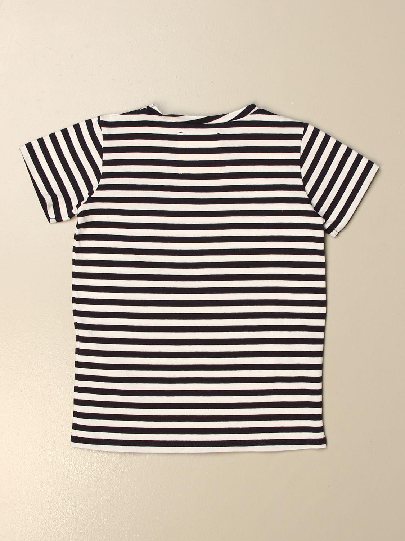 T-shirt Douuod: T-shirt Douuod a righe blue 2