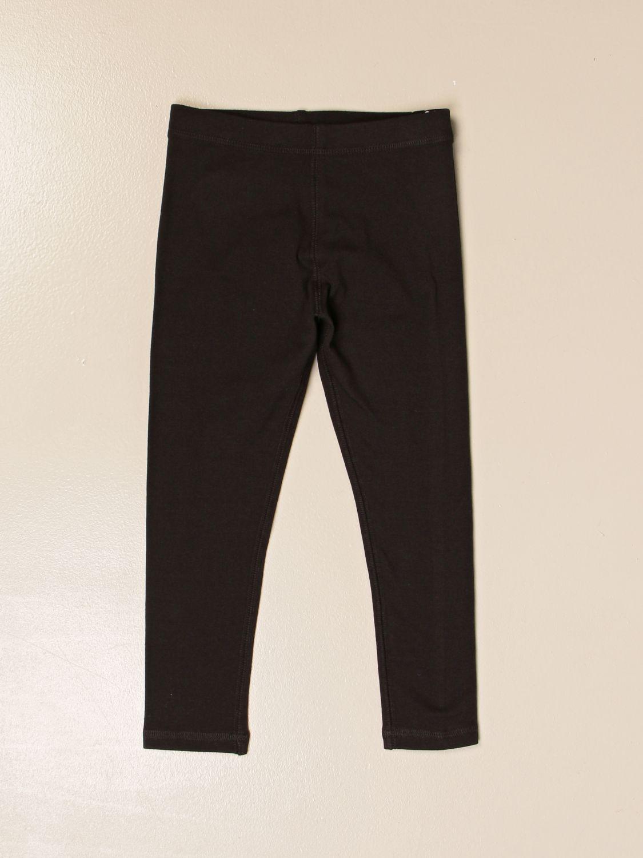 Pantalón Burberry: Pantalón niños Burberry negro 1