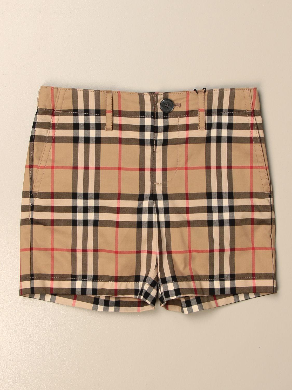 Pantalones cortos Burberry: Pantalones cortos niños Burberry beige 1
