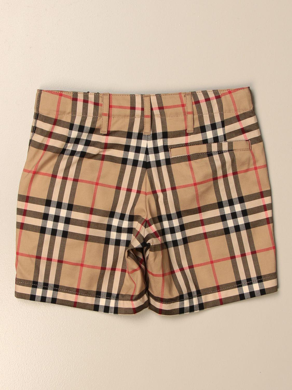 Pantalones cortos Burberry: Pantalones cortos niños Burberry beige 2