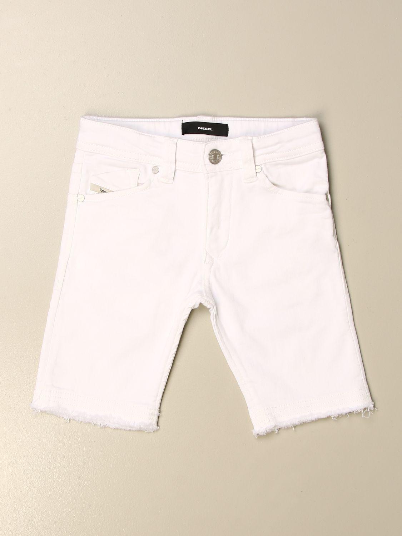 Pantalón corto Diesel: Pantalón niños Diesel verde 1