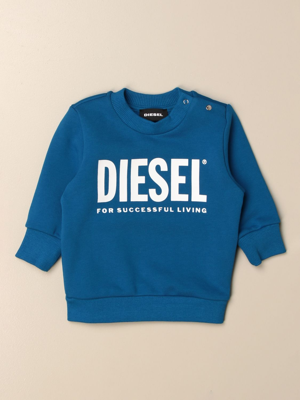 Jersey Diesel: Jersey niños Diesel azul oscuro 1