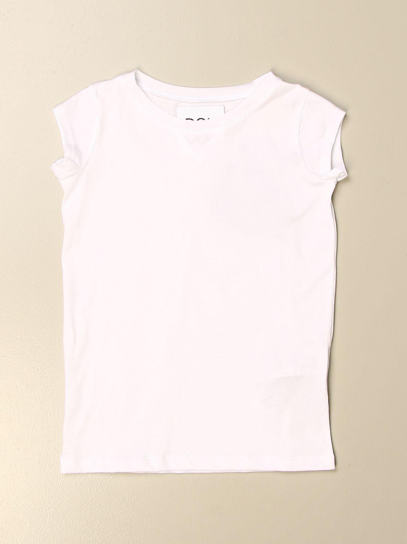 T-shirt Douuod: T-shirt basic Douuod in cotone bianco 1