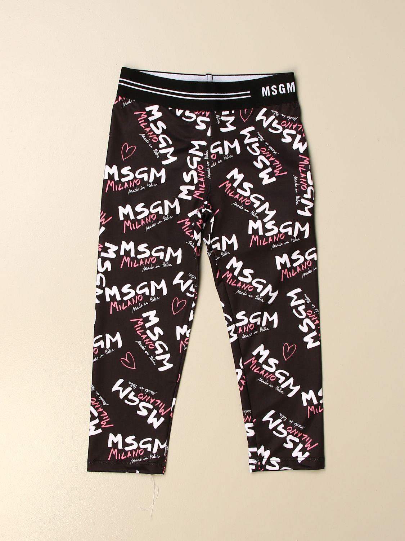Pantalón Msgm Kids: Pantalón niños Msgm Kids negro 1
