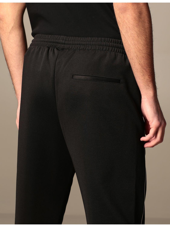 Trousers Marcelo Burlon: Marcelo Burlon cotton jogging trousers with logo black 5