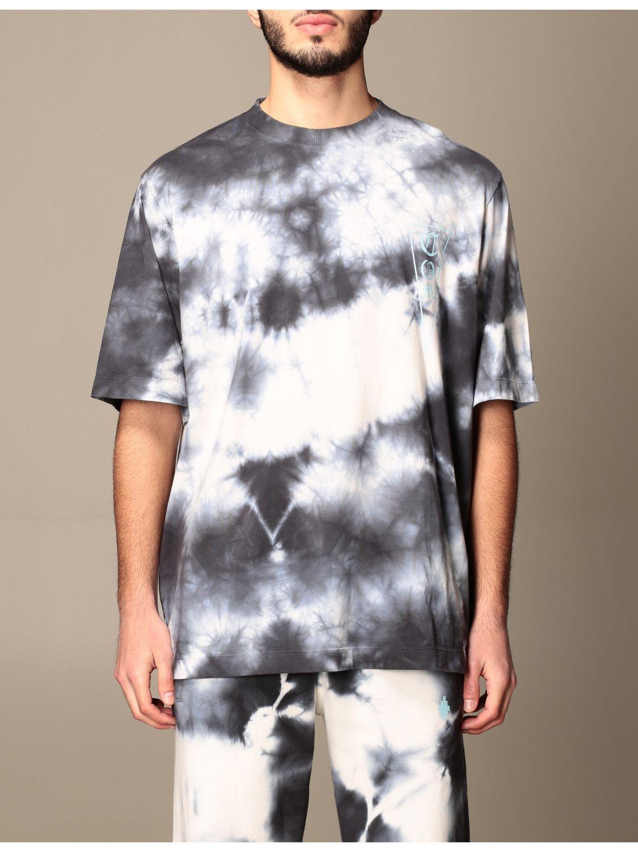 T-shirt Marcelo Burlon: T-shirt homme Marcelo Burlon blanc 1