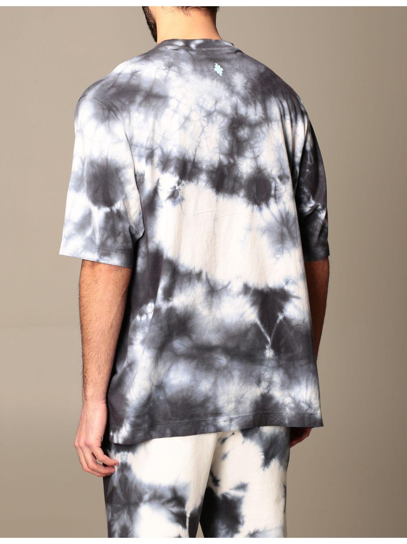 T-shirt Marcelo Burlon: T-shirt homme Marcelo Burlon blanc 3