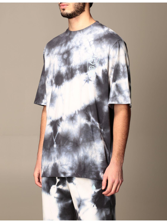 T-shirt Marcelo Burlon: T-shirt homme Marcelo Burlon blanc 4