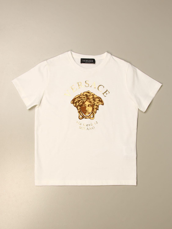 T-shirt Young Versace: T-shirt kids Versace Young white 1