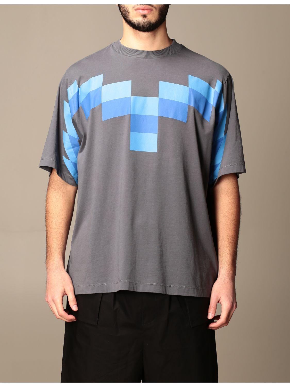 Camiseta Marcelo Burlon: Camiseta hombre Marcelo Burlon azul oscuro 1
