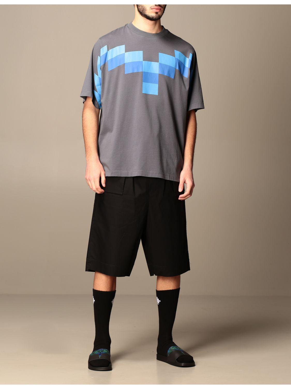 Camiseta Marcelo Burlon: Camiseta hombre Marcelo Burlon azul oscuro 2