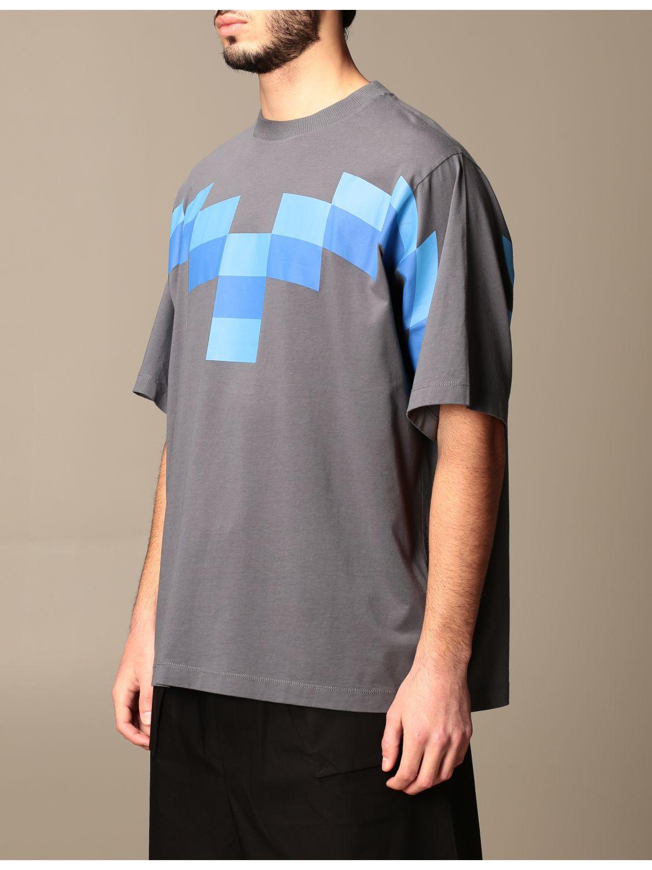 Camiseta Marcelo Burlon: Camiseta hombre Marcelo Burlon azul oscuro 4