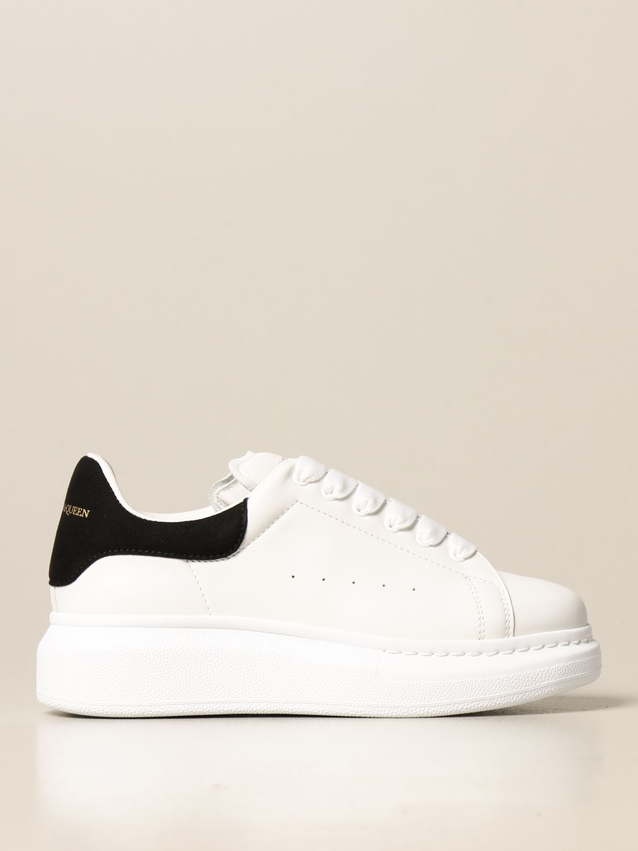 Chaussures Alexander Mcqueen: Chaussures enfant Alexander Mcqueen blanc 1