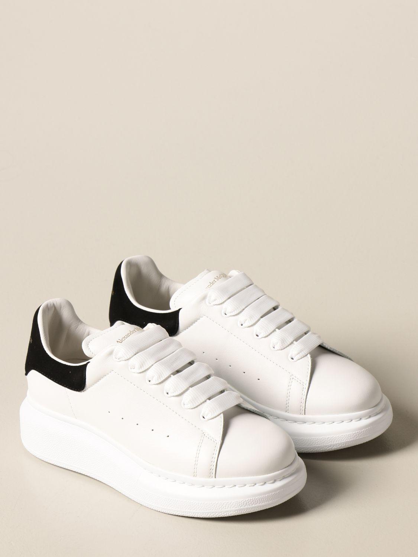 Chaussures Alexander Mcqueen: Chaussures enfant Alexander Mcqueen blanc 2