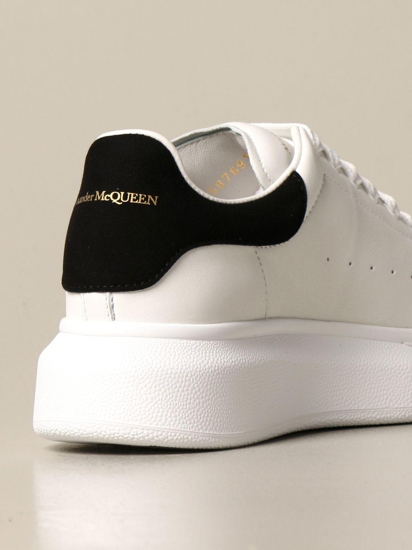 Chaussures Alexander Mcqueen: Chaussures enfant Alexander Mcqueen blanc 3