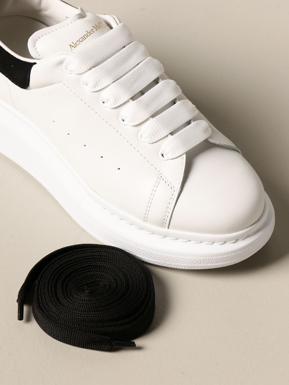 Chaussures Alexander Mcqueen: Chaussures enfant Alexander Mcqueen blanc 4