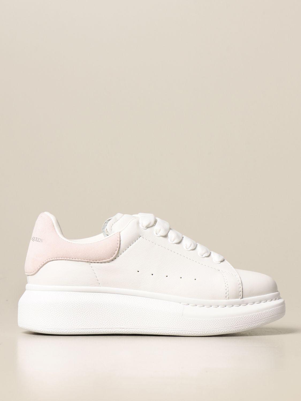 Обувь Alexander Mcqueen: Обувь Детское Alexander Mcqueen белый 2 1