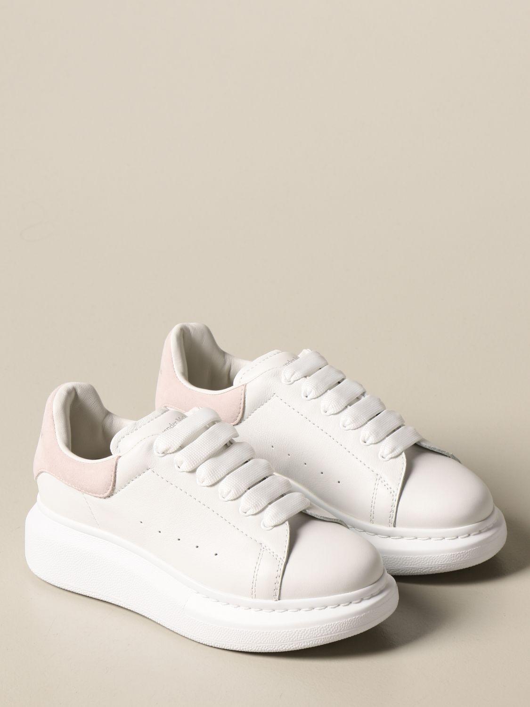 Обувь Alexander Mcqueen: Обувь Детское Alexander Mcqueen белый 2 2