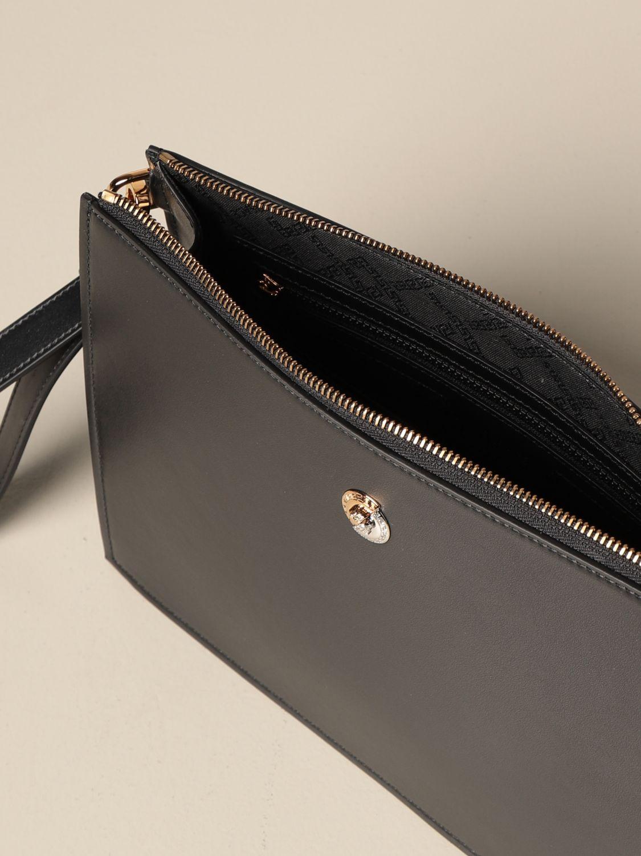 Portadocumenti Versace: Clucth Versace in pelle liscia con medusa nero 5
