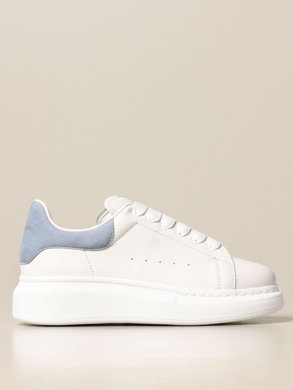 Zapatos Alexander Mcqueen: Zapatos niños Alexander Mcqueen blanco 1
