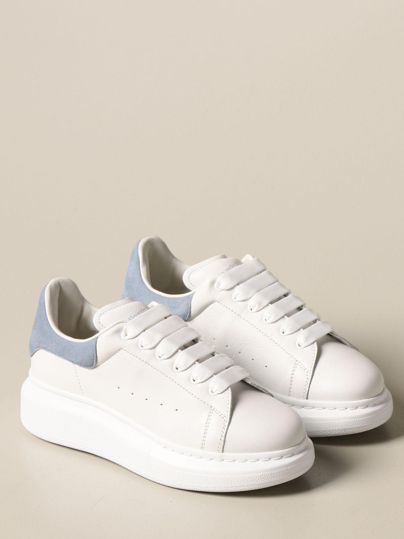 Zapatos Alexander Mcqueen: Zapatos niños Alexander Mcqueen blanco 2
