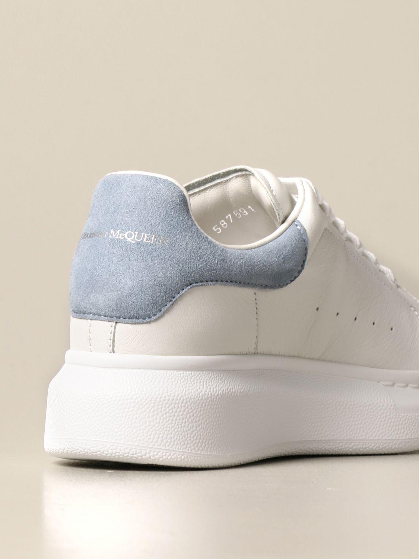 Zapatos Alexander Mcqueen: Zapatos niños Alexander Mcqueen blanco 3