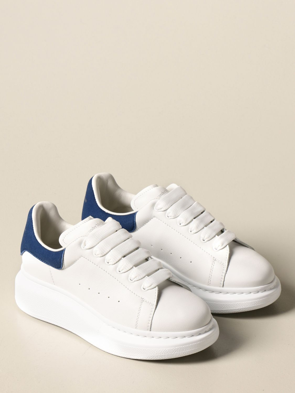 Zapatos Alexander Mcqueen: Zapatos niños Alexander Mcqueen blanco 1 2