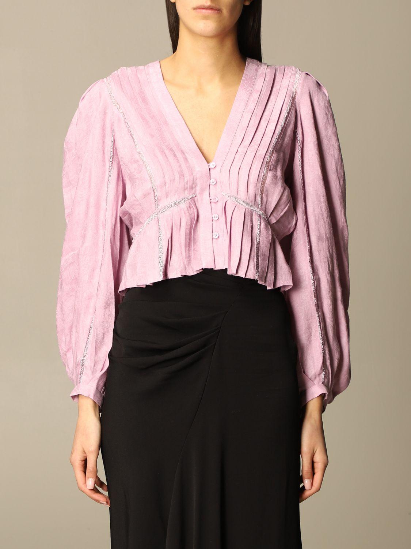 Pullover Iro: Pullover damen Iro violett 1