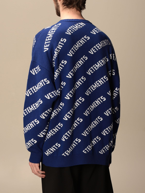 Jersey Vetements: Sudadera hombre Vetements royal blue 3