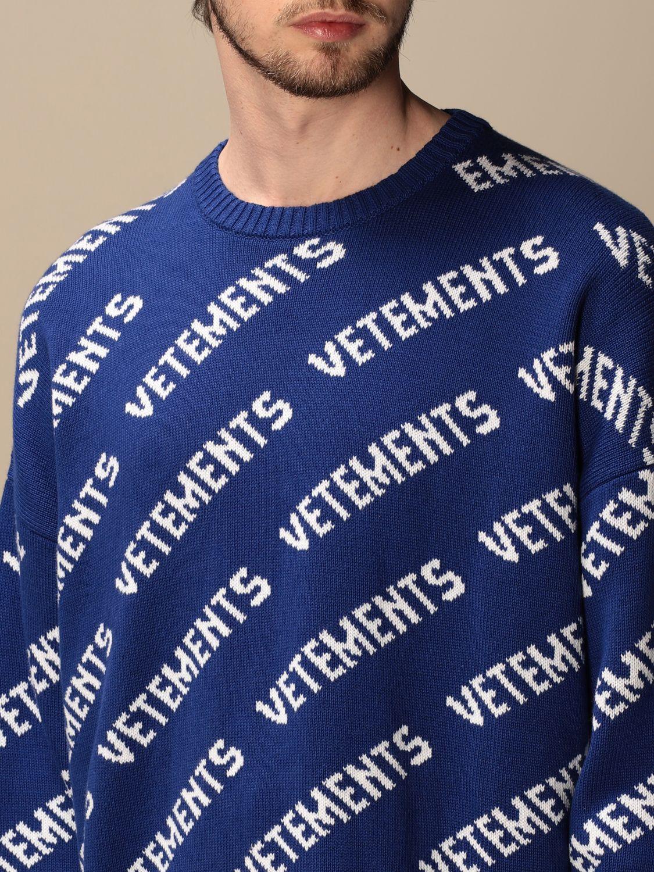 Jersey Vetements: Sudadera hombre Vetements royal blue 5