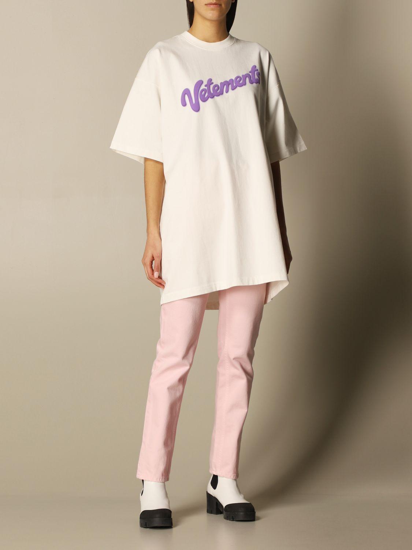 Jeans Vetements: Jeans women Vetements pink 2