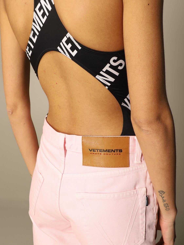 Jeans Vetements: Jeans women Vetements pink 5
